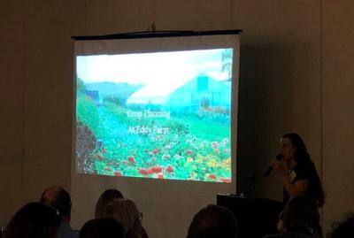presenter at UConn's Cut Flower Growers Workshop